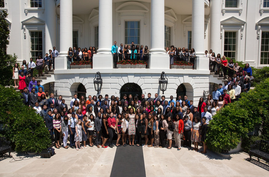 First Lady Michelle Obama, as part of her Reach Higher initiative